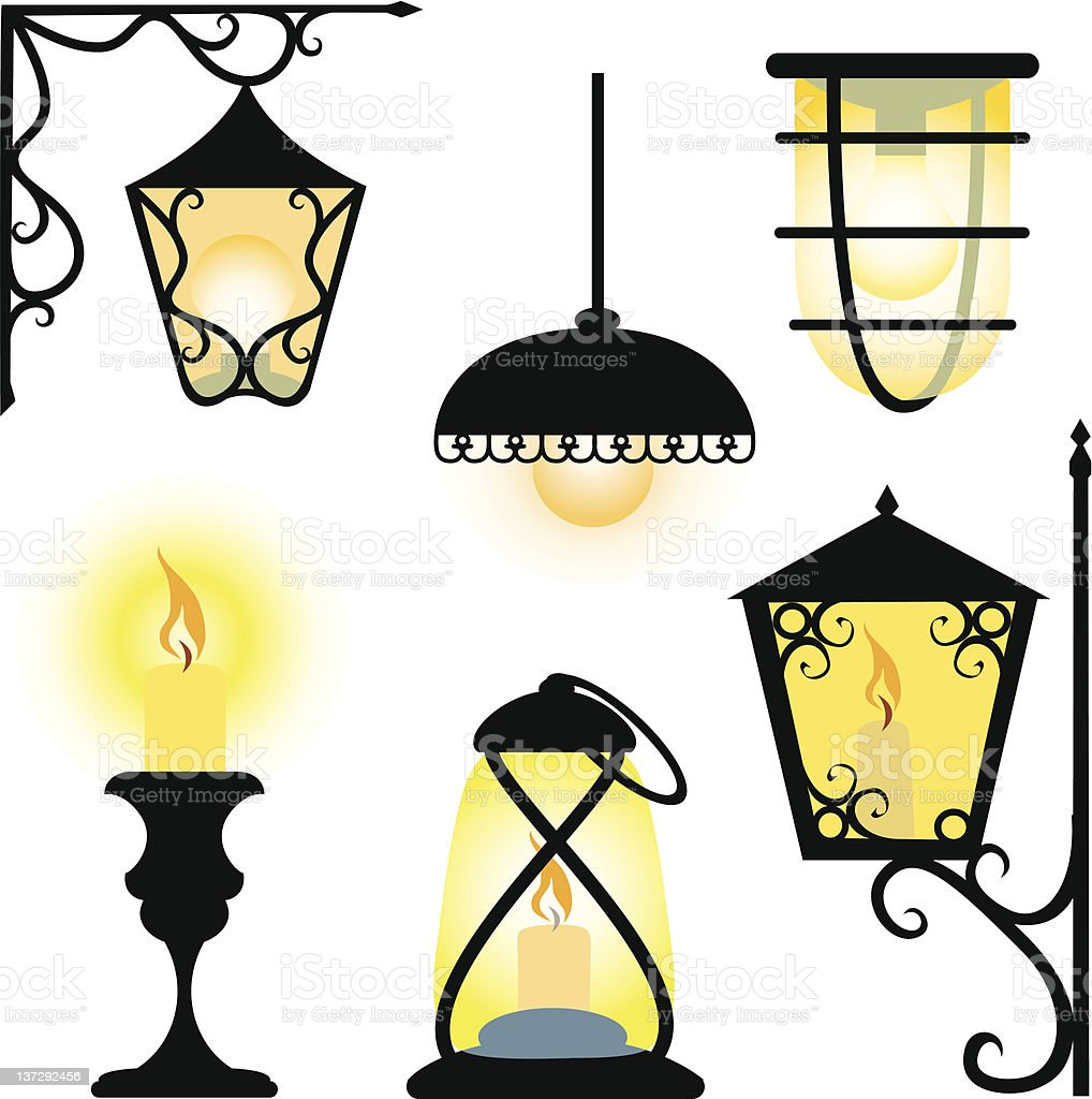 Lanterns royalty-free lanterns stock vector art & more images of candle