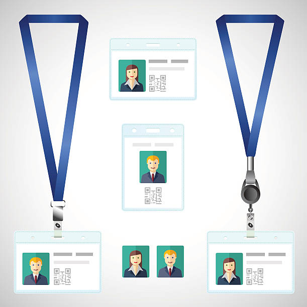 royalty free lanyard clip art vector images illustrations istock