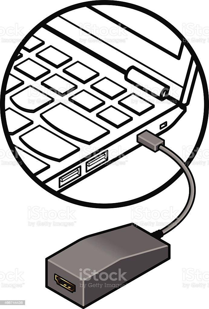 Laptop Display Adapter