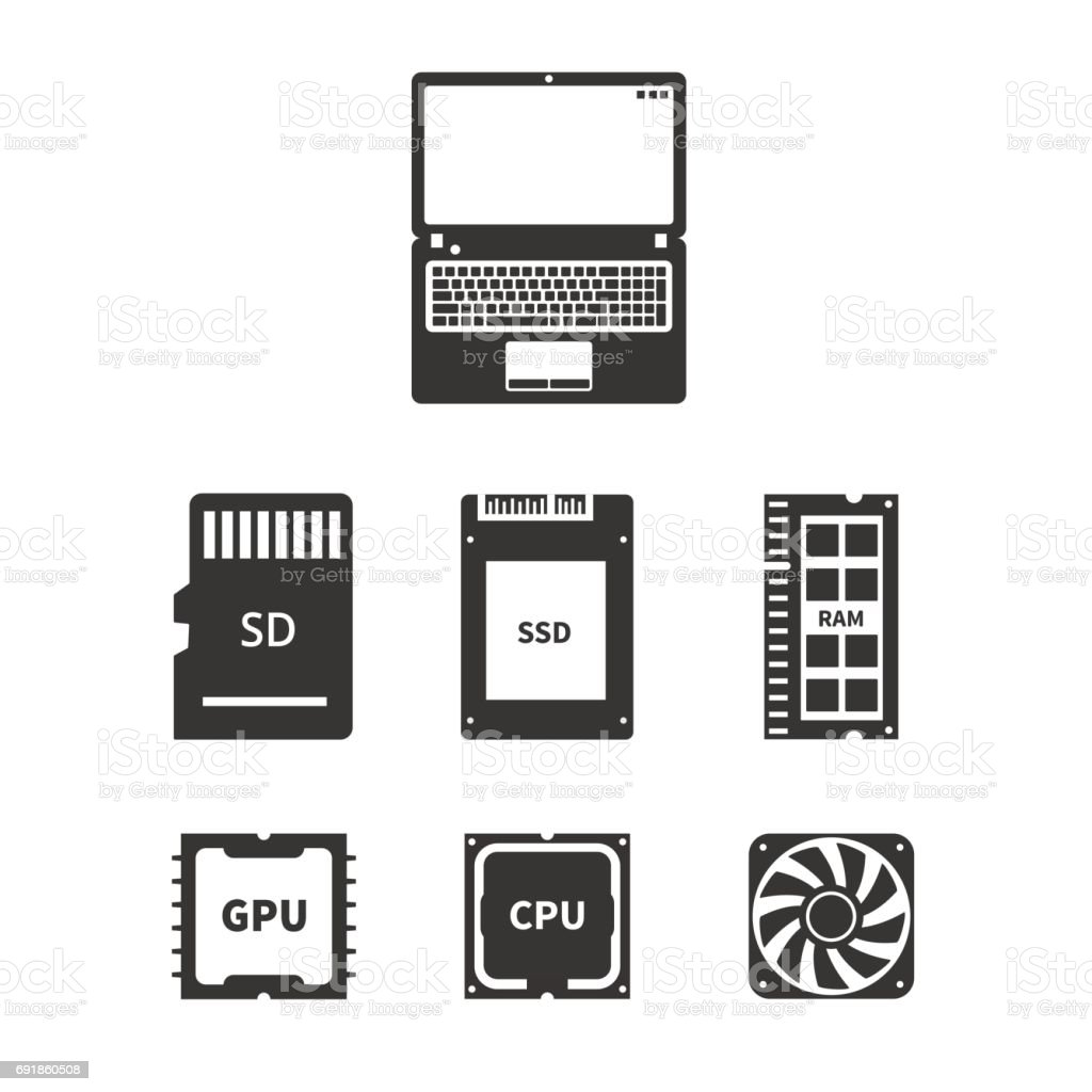 laptop hardware icons stock illustration download image now istock laptop hardware icons stock illustration download image now istock