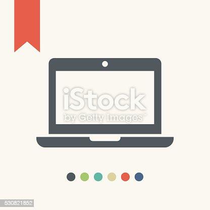 istock laptop icon 530821852