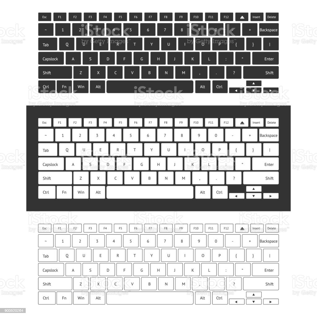 Laptop keyboard set