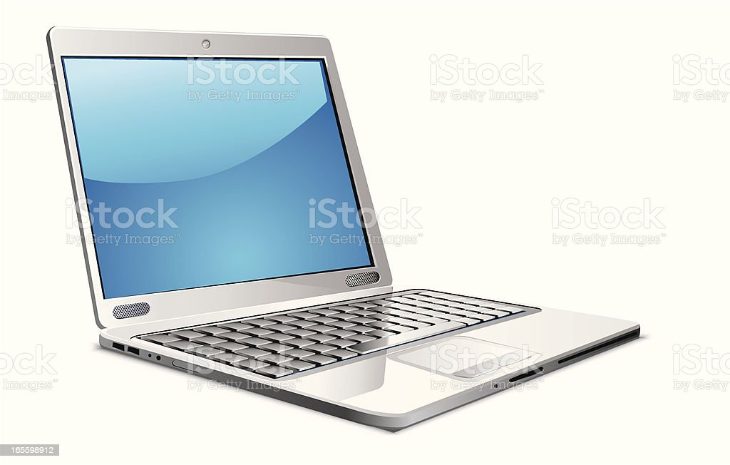Laptop royalty-free laptop stock vector art & more images of clip art