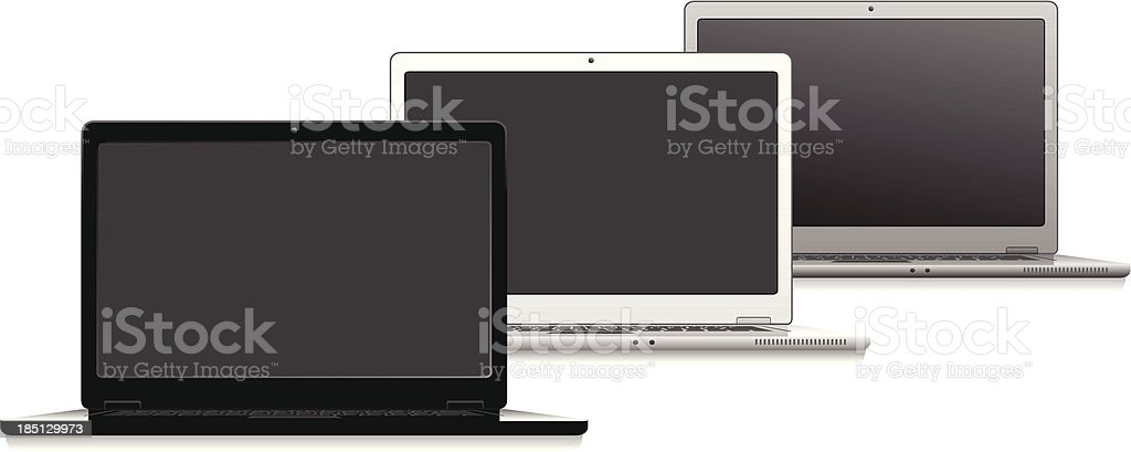 laptop royalty-free laptop stock vector art & more images of aluminum