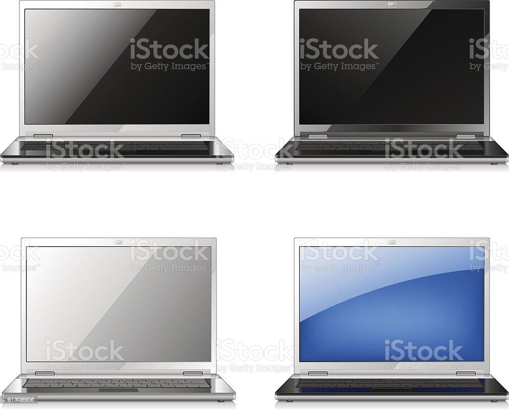 Laptop royalty-free stock vector art