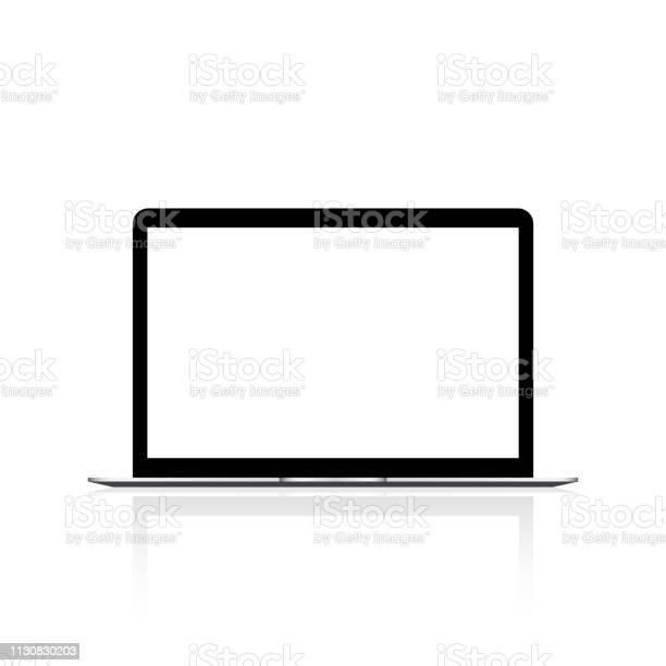 Laptop with white screen mock up vector vector id1130830203?b=1&k=6&m=1130830203&s=612x612&h=zrmxsfcyr7gmn5 rfgozl uvezxbw c4xprfhxgdwc0=