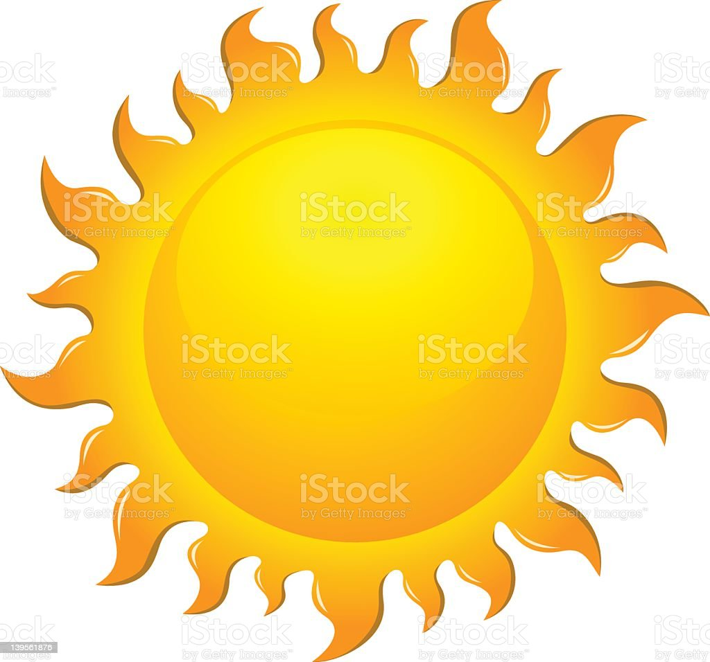 Large bright yellow sun symbol royalty-free large bright yellow sun symbol stock vector art & more images of abstract