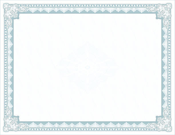 large certificate - diploma - certificate and awards frames stock illustrations, clip art, cartoons, & icons