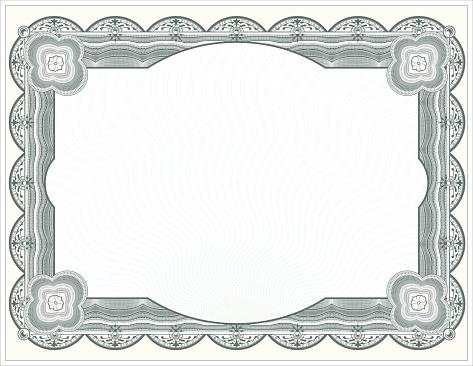 Large Certificate - Diploma