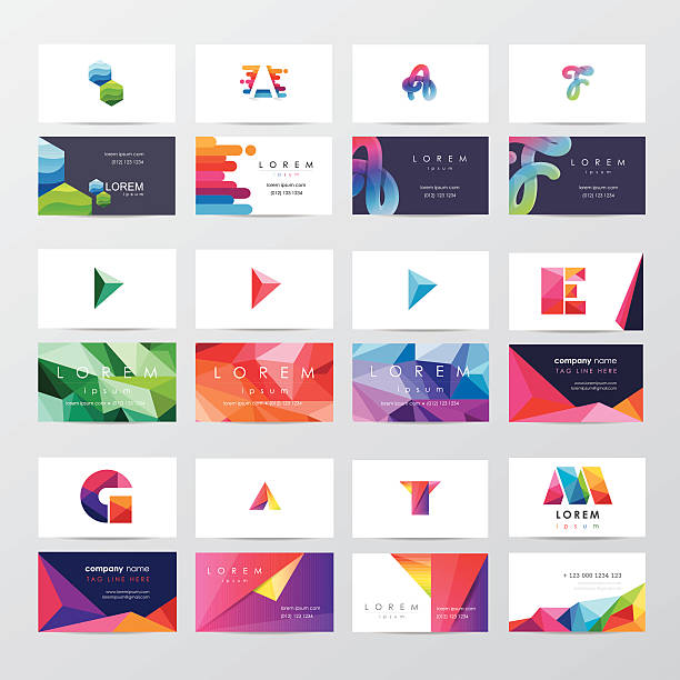 Royalty Free Business Card Clip Art Vector Images Illustrations - Business card template design