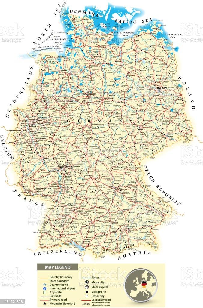 Niemiec bawaria mapa 11 najpiękniejszych