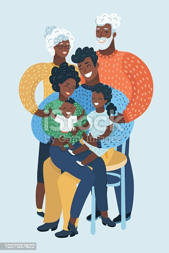 Black Family Clipart At Getdrawings Com Free For Personal Use