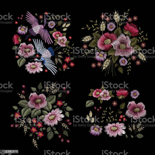 Large floral collection set peony traditional folk stylish stylish vector id1182082570?b=1&k=6&m=1182082570&s=612x612&h=874kjqk1laftjeltkbcmgcogrzse7kxpuset6bepodk=