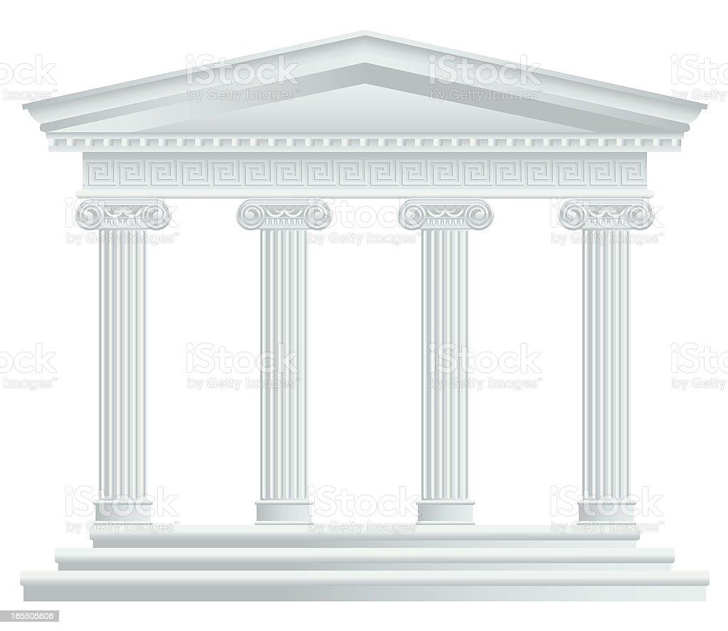 Large Greek/Roman Temple
