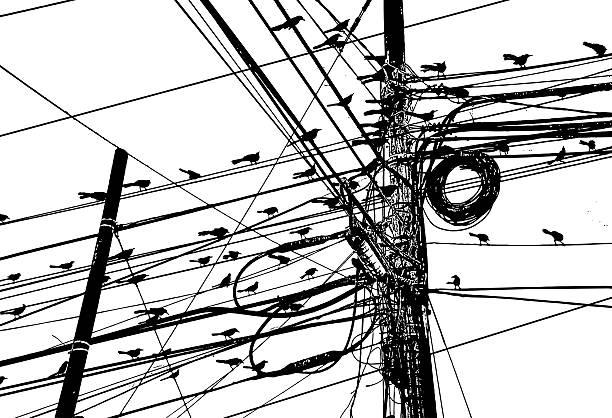 Telefonmast Vektorgrafiken und Illustrationen - iStock