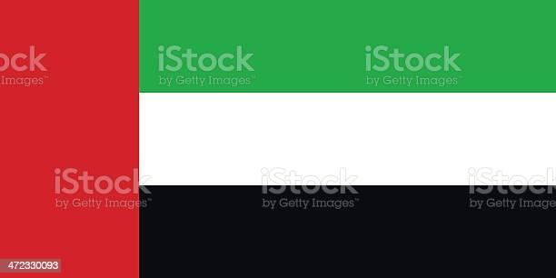 플랙 United Arab Emirates 국기에 대한 스톡 벡터 아트 및 기타 이미지