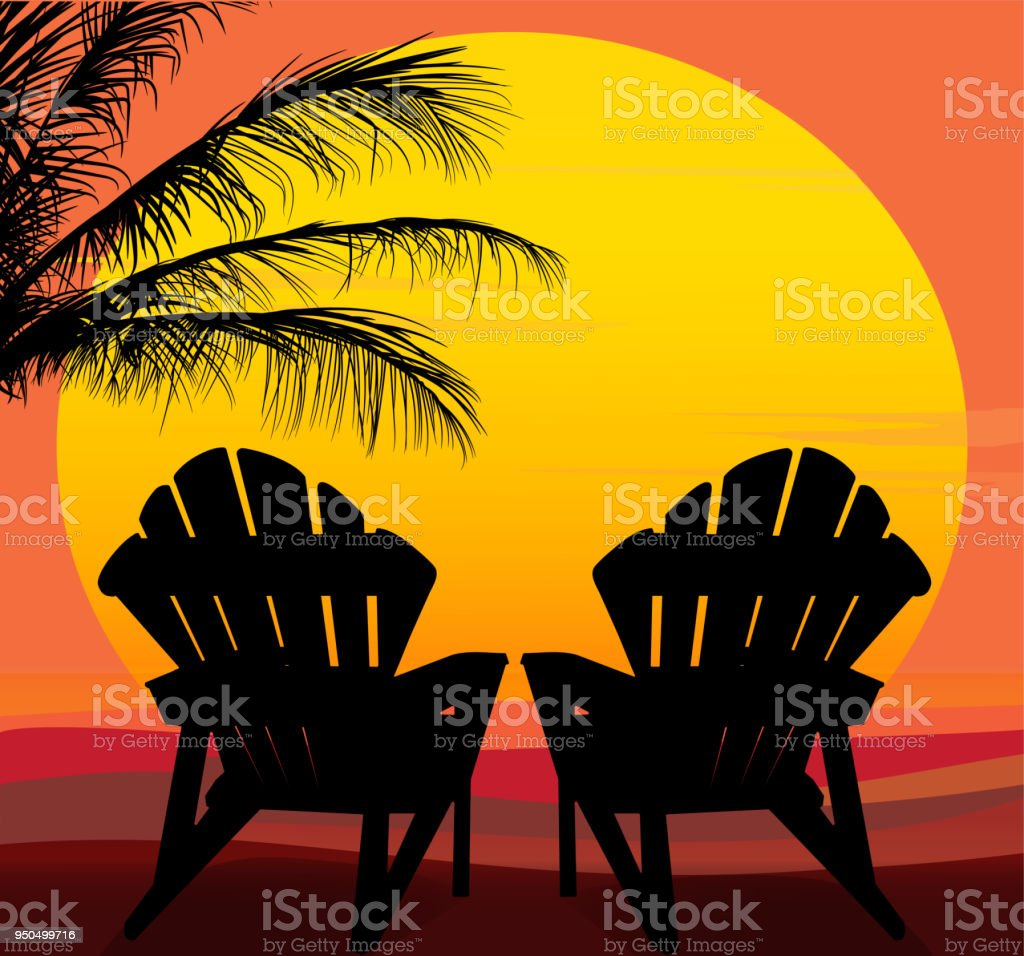 Royalty Free Adirondack Chair Clip Art Vector Images