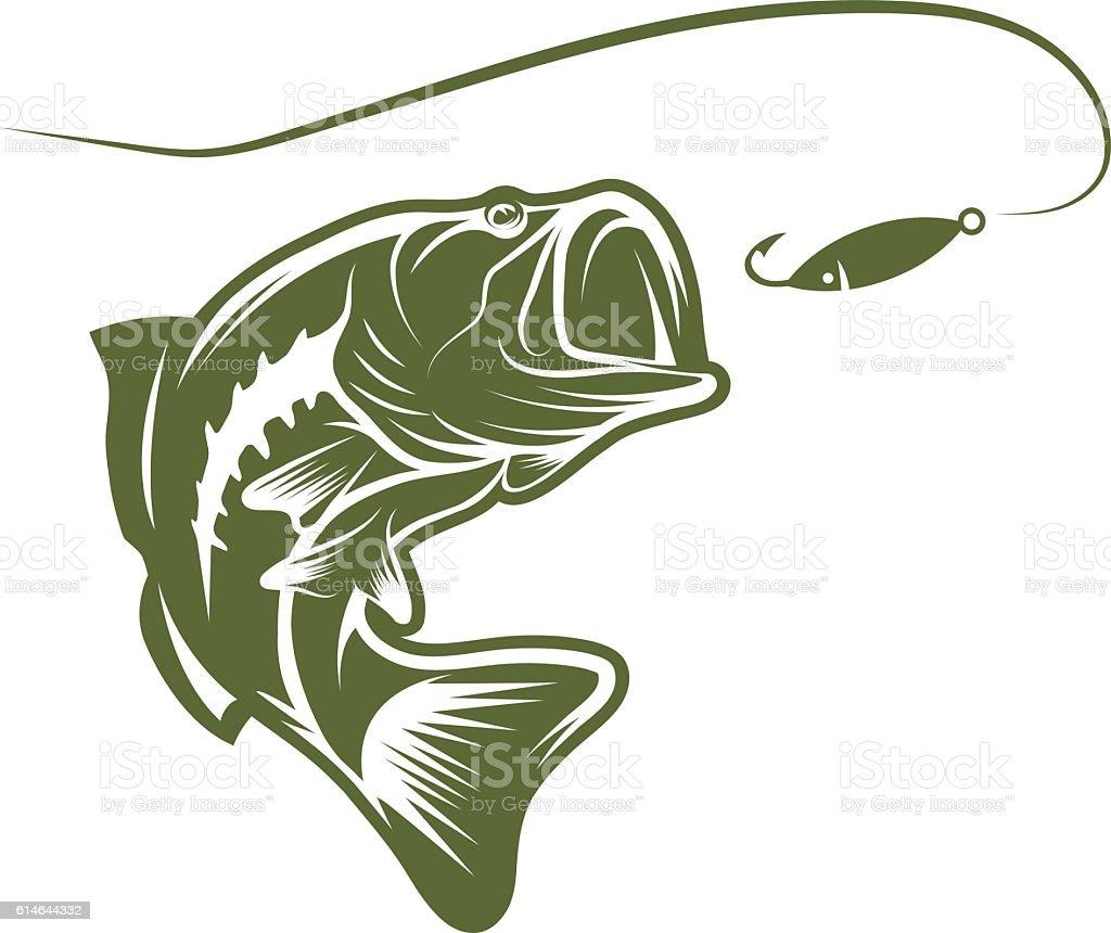 Largemouth bass fishing lures