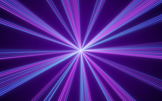 Laser Abstract Background