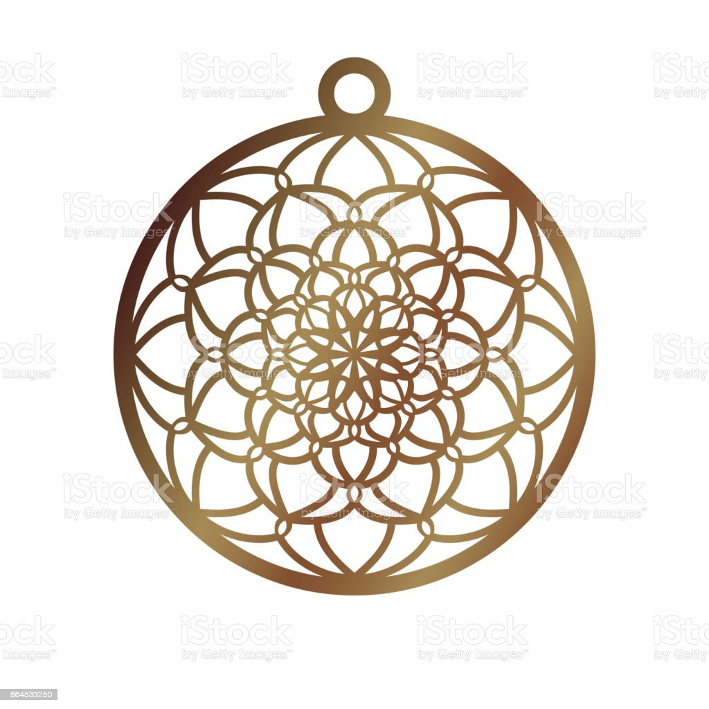 Laser Cut Openwork Christmas Decoration Vector Design Laser Cutting