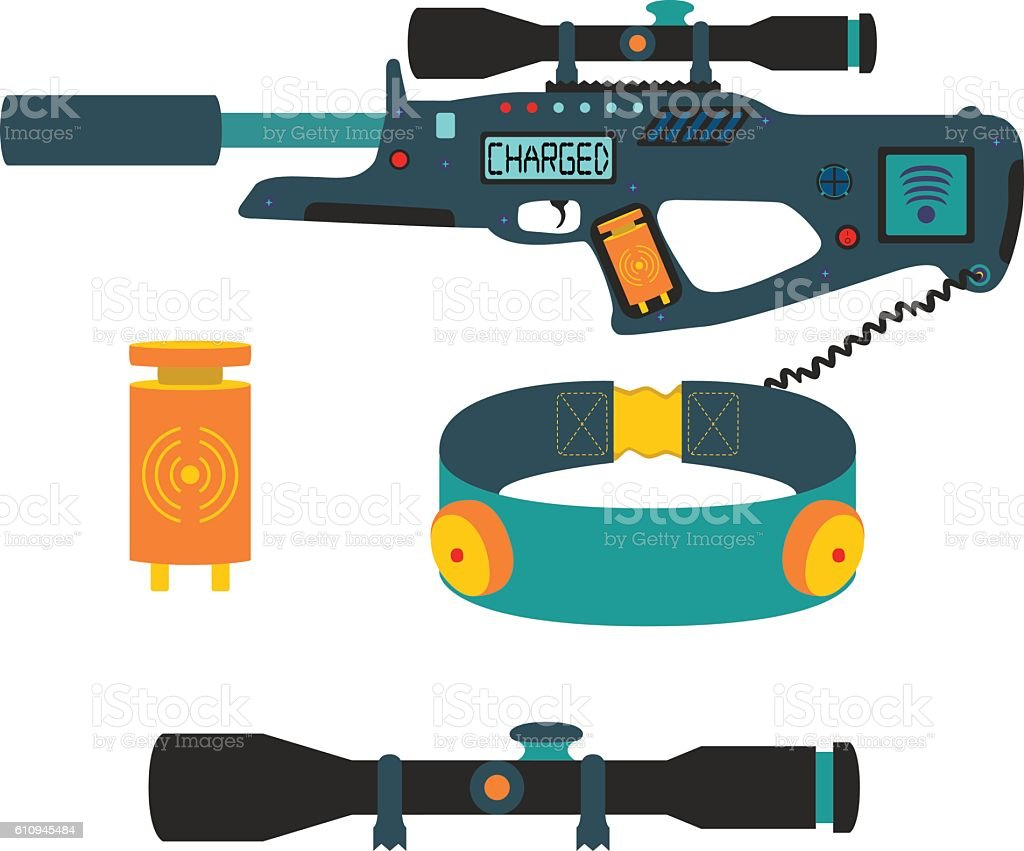 royalty free lasertag clip art vector images illustrations istock rh istockphoto com Go Cart Clip Art Water Play Clip Art