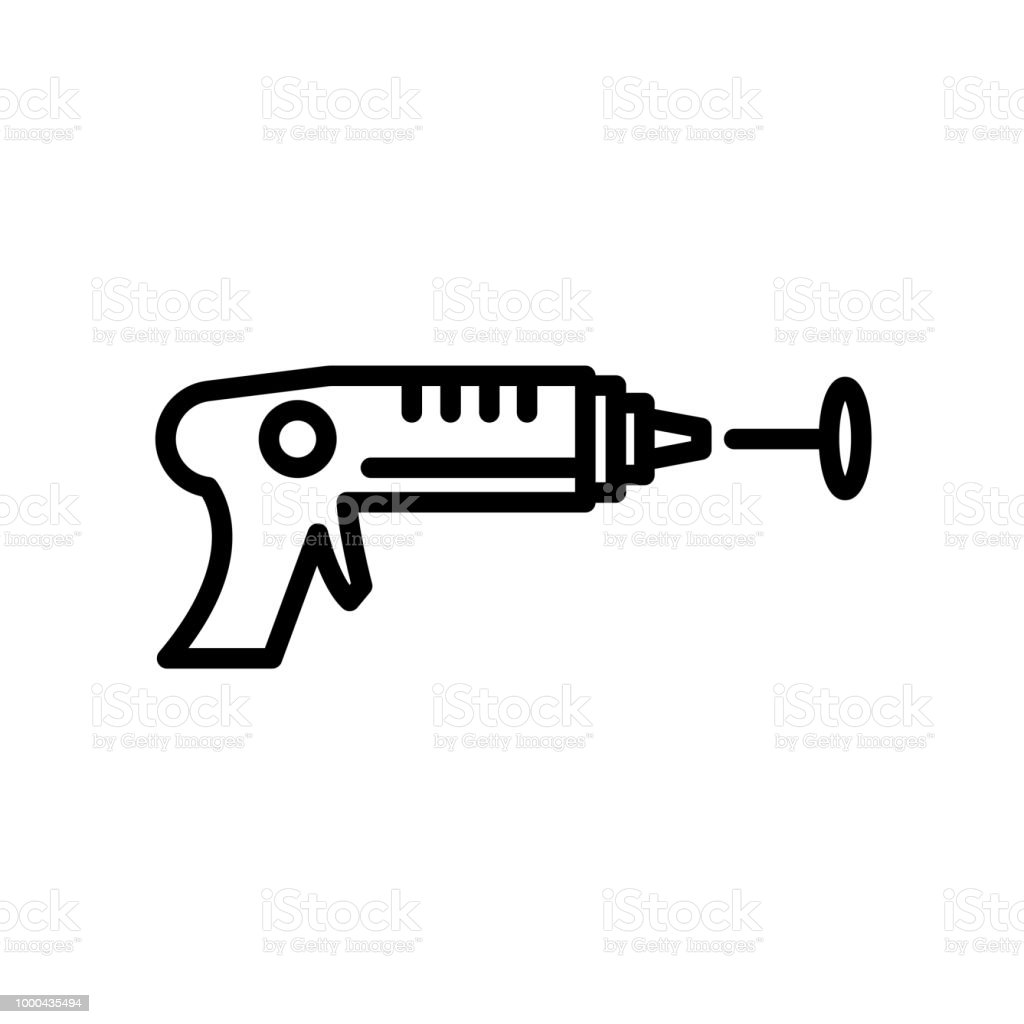 laser tag icon isolated on white background stock vector art more rh istockphoto com Laser Quest Clip Art Cove Clip Art