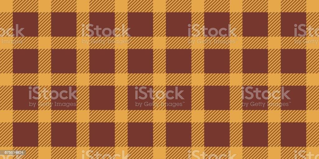Сlassic kumaş mutfak için. Pastel kahverengi-turuncu masa örtüsü. Sorunsuz doku royalty-free Сlassic kumaş mutfak için pastel kahverengituruncu masa örtüsü sorunsuz doku stok vektör sanatı & hiç kimse'nin daha fazla görseli