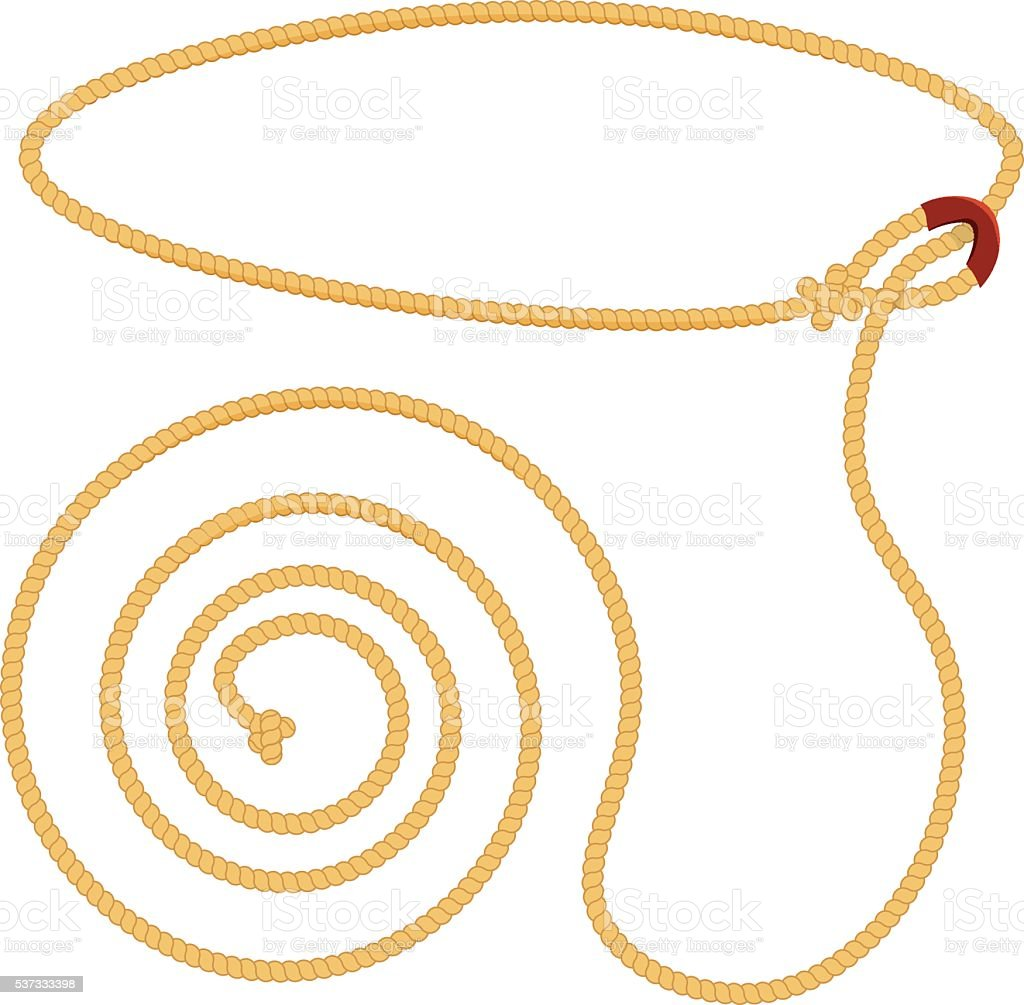 royalty free lasso clip art vector images illustrations istock rh istockphoto com lasso clipart png cowboy lasso clip art