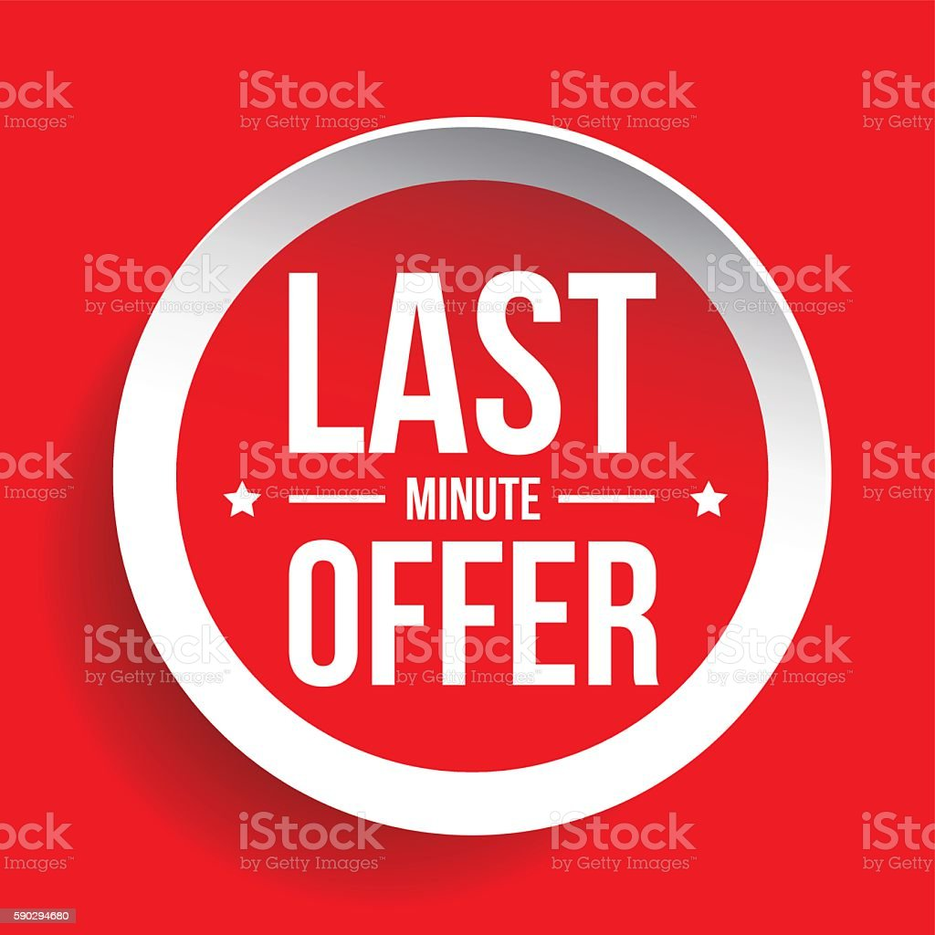 Last Minute Offer Round Label sticker royaltyfri last minute offer round label sticker-vektorgrafik och fler bilder på bildbakgrund