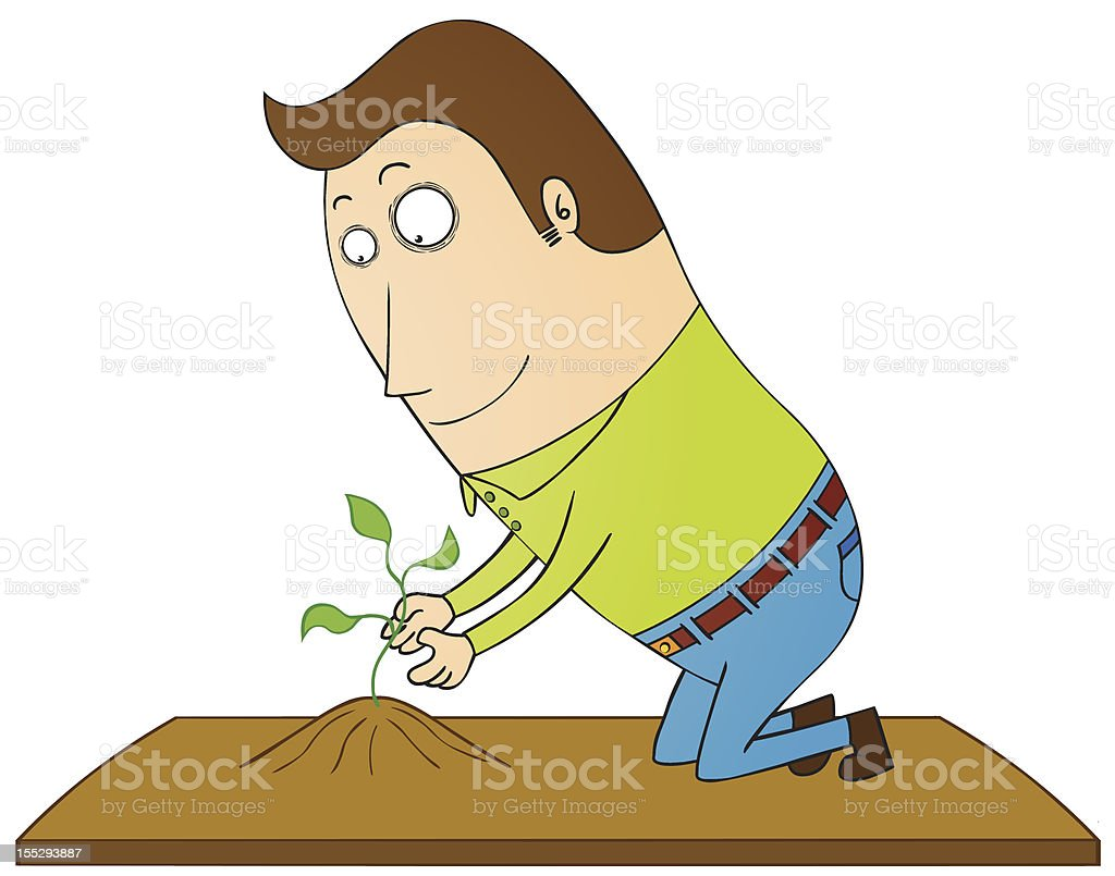 Last plant royalty-free last plant stock vector art & more images of adult