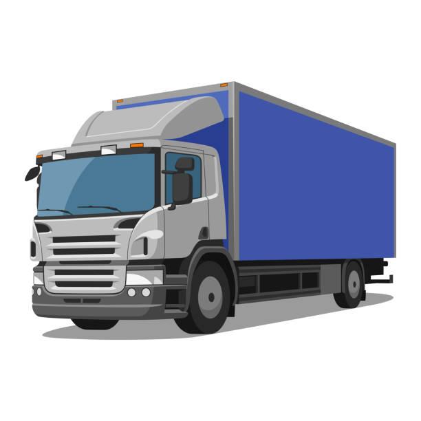 ilustraciones, imágenes clip art, dibujos animados e iconos de stock de lastbil - conductor de autobús
