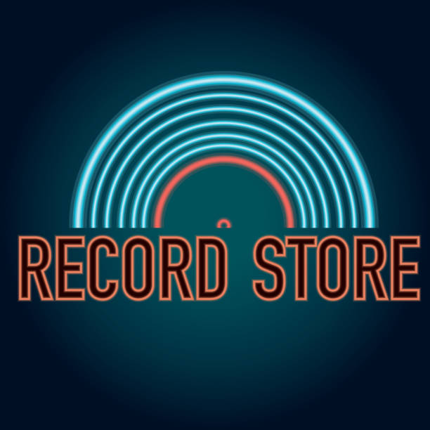 Royalty Free Record Store Clip Art Vector Images