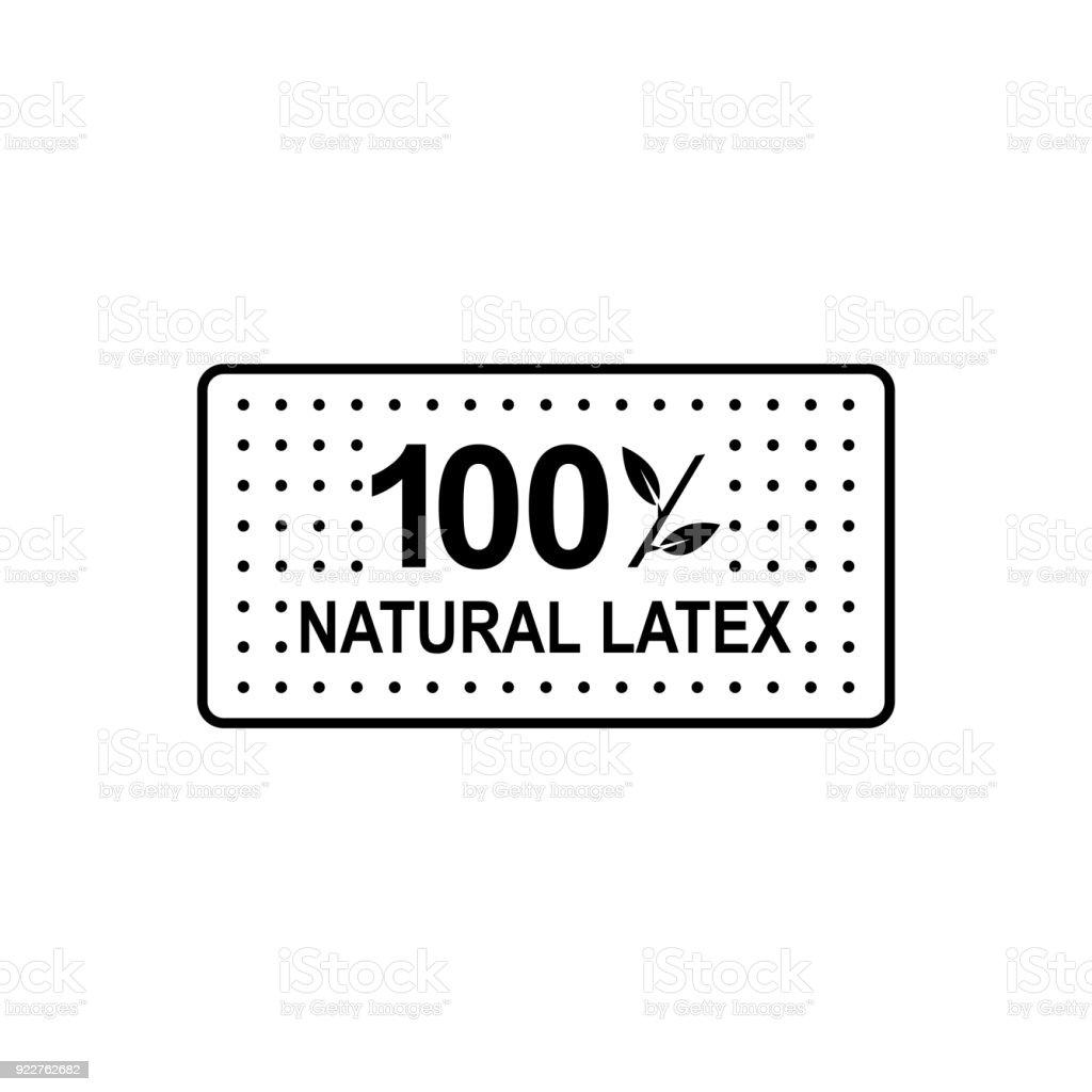 Latex Mattress Icon Vector Illustration Stock Vector Art More