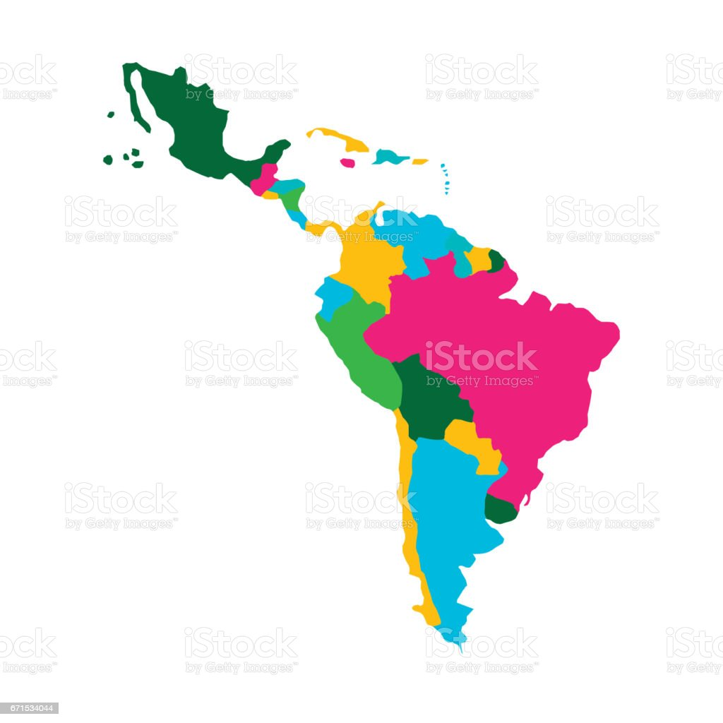 Latin america map stock vector art more images of abstract latin america map royalty free latin america map stock vector art amp more images gumiabroncs Choice Image