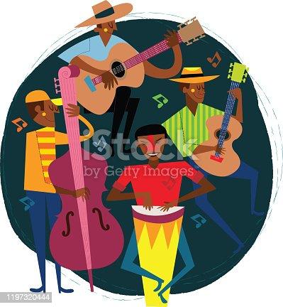 istock Latin Musicians 1197320444