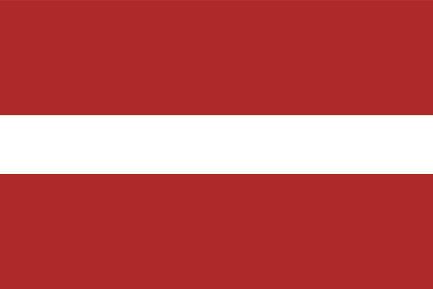Latvia Flag flag of Latvia vector in official colors and Proportion Correctly. latvia stock illustrations