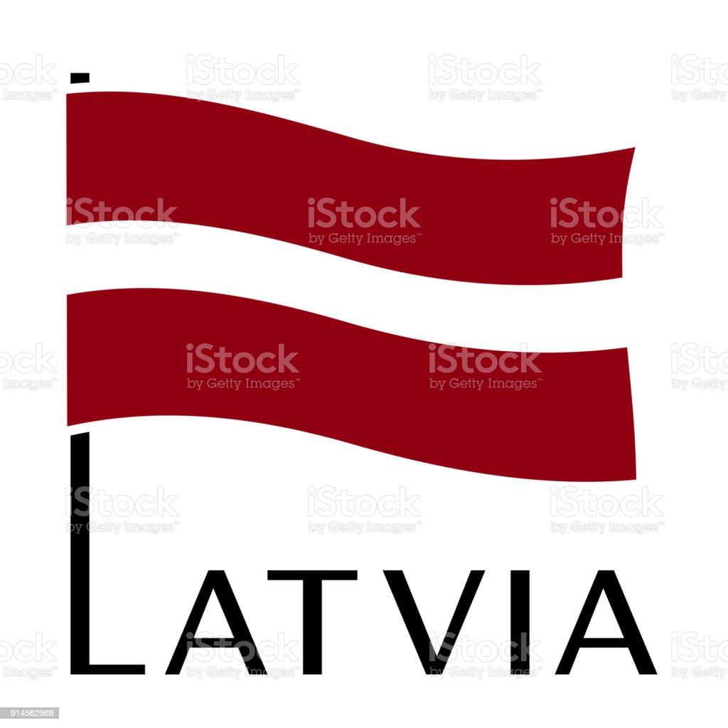 ilustração de bandeira da letônia e mais banco de imagens de