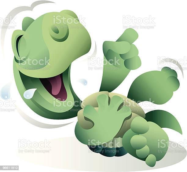 Laughing Turtle-vektorgrafik och fler bilder på Digitalt genererad bild