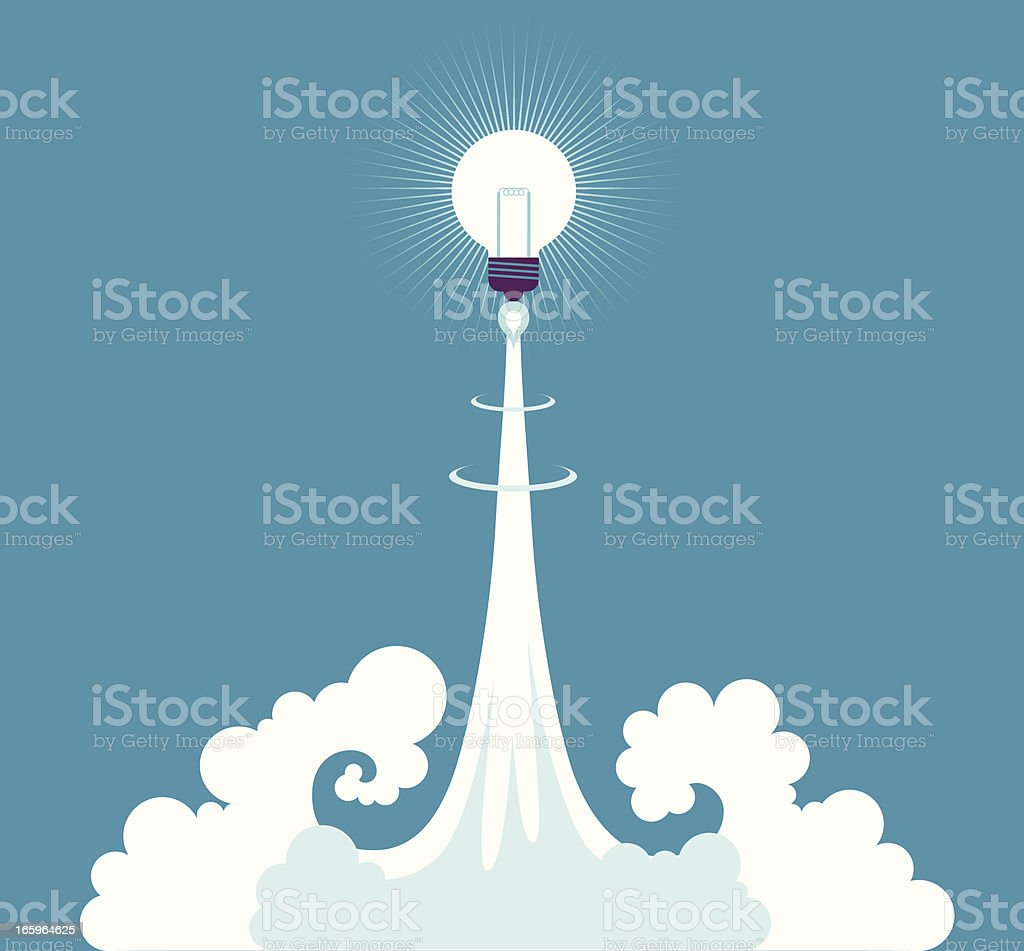 Launch Idea royalty-free launch idea stock vector art & more images of above