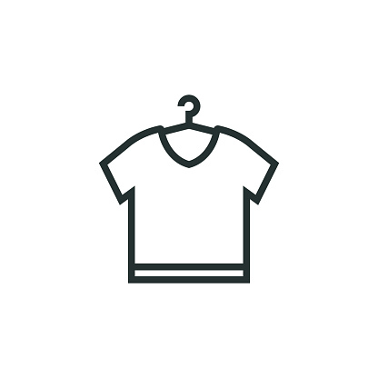 Laundry and Cleaning Line Icon