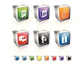 laundry and dry cleaning icon set