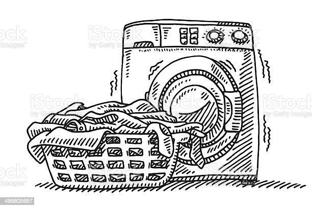 Laundry basket washing machine drawing vector id499805657?b=1&k=6&m=499805657&s=612x612&h=shpaqg7c3sqx0x  0q6ribvlzxrwubdxmvto8npk38m=