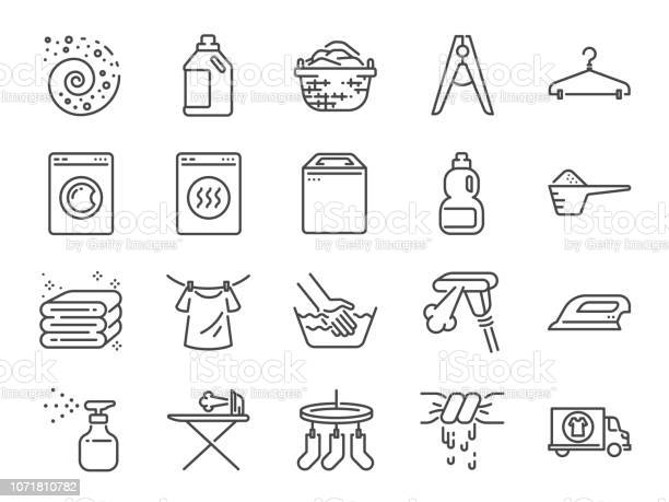 Laundry icon set included the icons as detergent washing machine vector id1071810782?b=1&k=6&m=1071810782&s=612x612&h=koo0kqscf2p46ux6nvkqaqh6xenjhqax5bmfrz5ofbe=