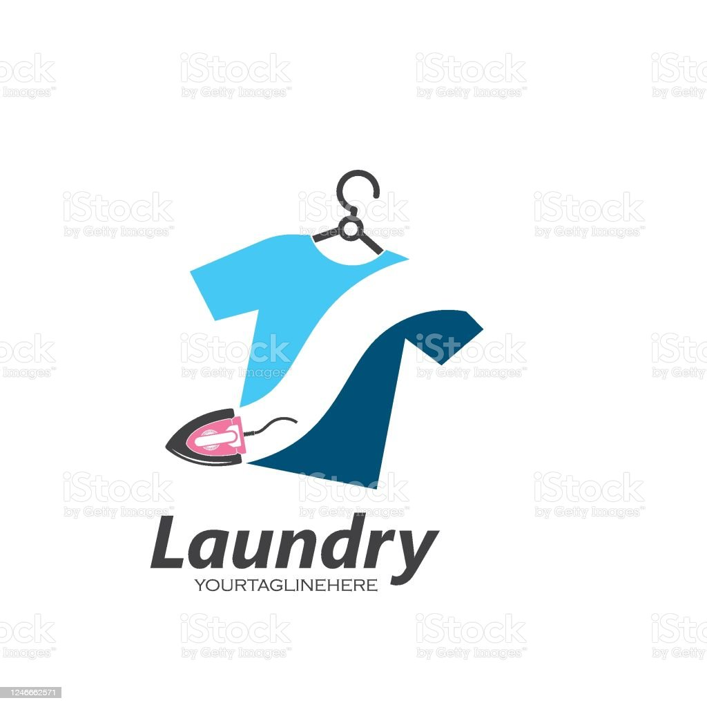 laundry logo vector icon illustration design stock illustration download image now istock https www istockphoto com vector laundry logo vector icon illustration design gm1246662571 363218833