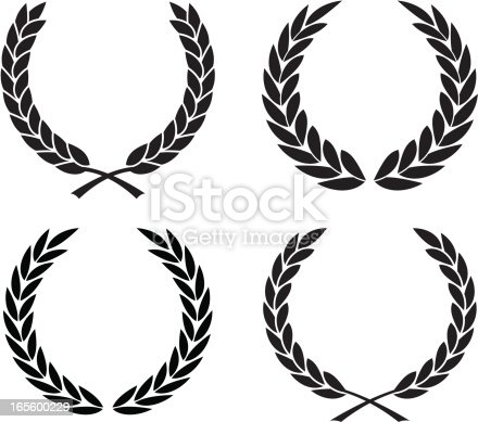 A collection of different laurel wreaths. 2 credits each or 4 for 8 credits.