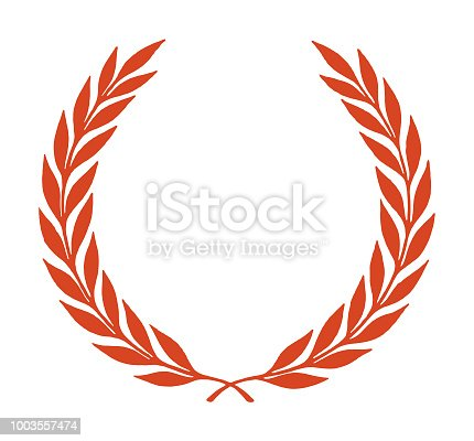 istock Laurel Wreath Border 1003557474
