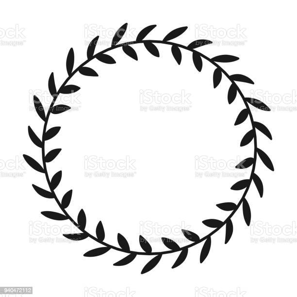 Laurel wreath hand drawn vector round frame for invitations greeting vector id940472112?b=1&k=6&m=940472112&s=612x612&h=rcn3iyunoa3vitmoahvkba5amphkp p2eq9cstxlovs=