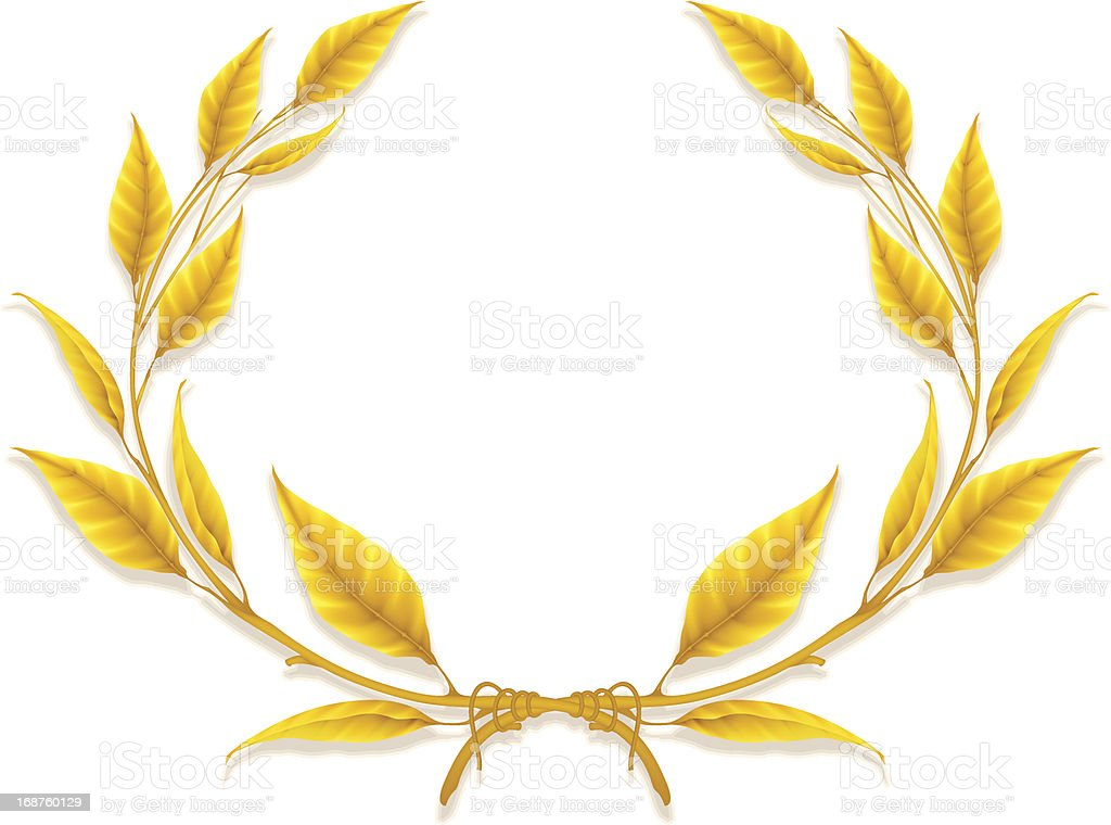 Laurel Wreath royalty-free stock vector art