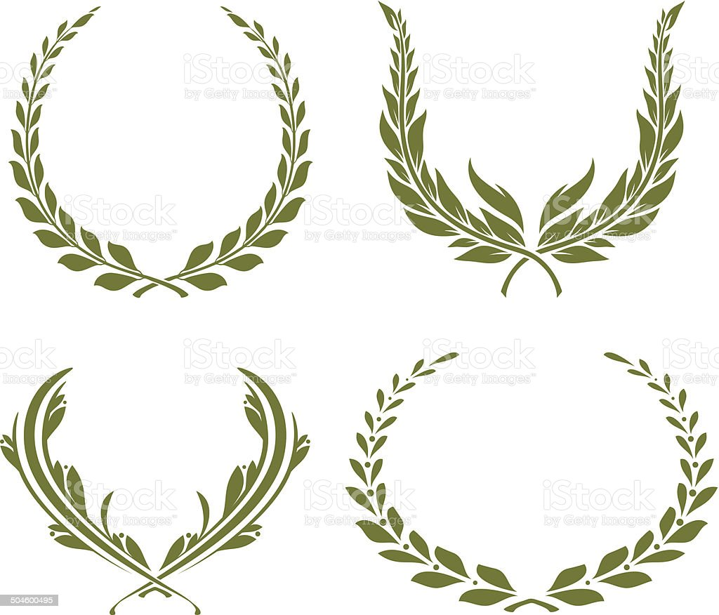 Laurel Wreath Royalty Free Stock Vector Art Amp More Images Of Branch