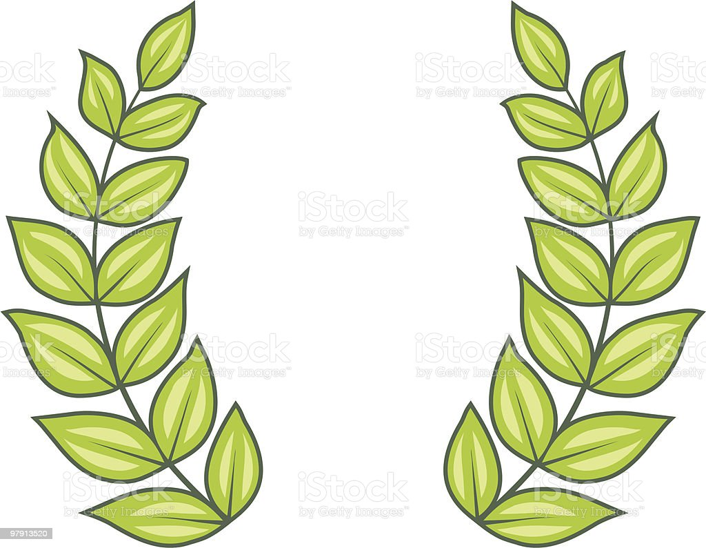 Laurel Wreath (Vector) royalty-free laurel wreath stock vector art & more images of anniversary
